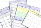 Set your desktop calendar to display a daily, weekly or monthly view! printable!