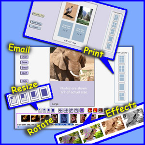 Easy Digital Photo Resizing, Printing and Enhancement. Learn in Minutes!